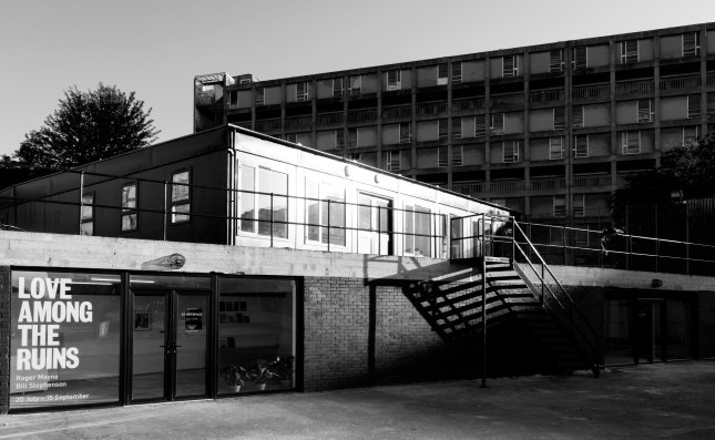 S1 Artspace, Park Hill, black and white