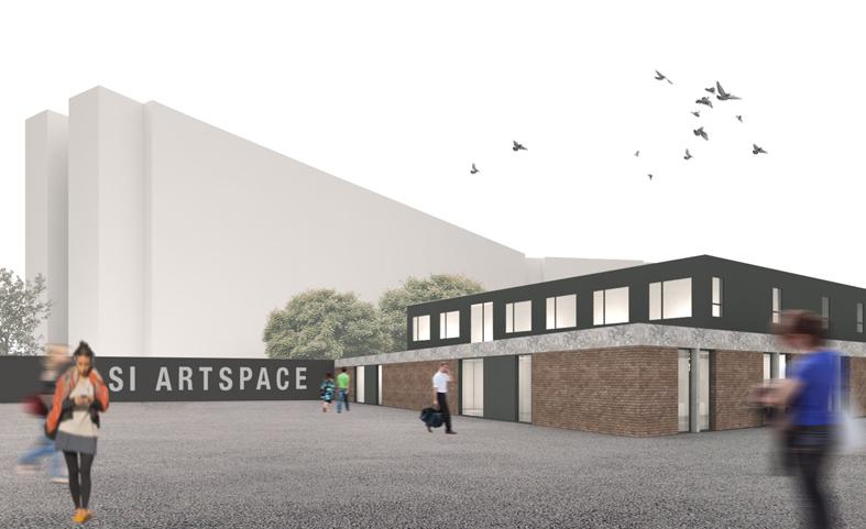 visualisation of S1 new garage premises